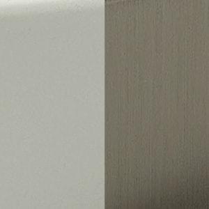 BN - White / Brushed nickel